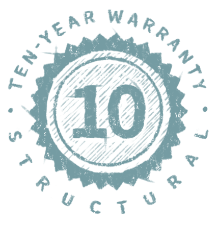 10-Year Structural Warranty