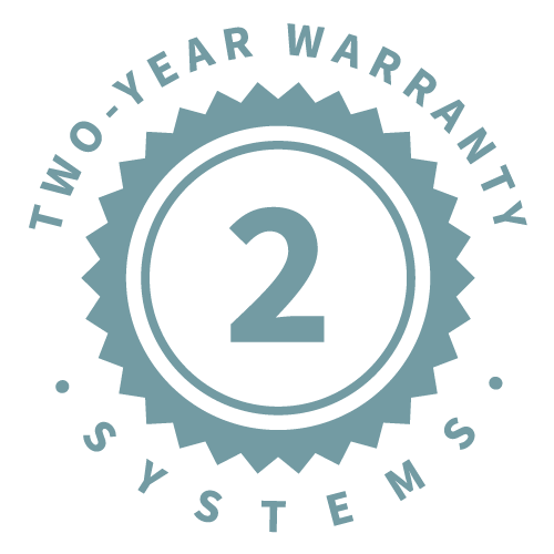 2-Year Systems Warranty